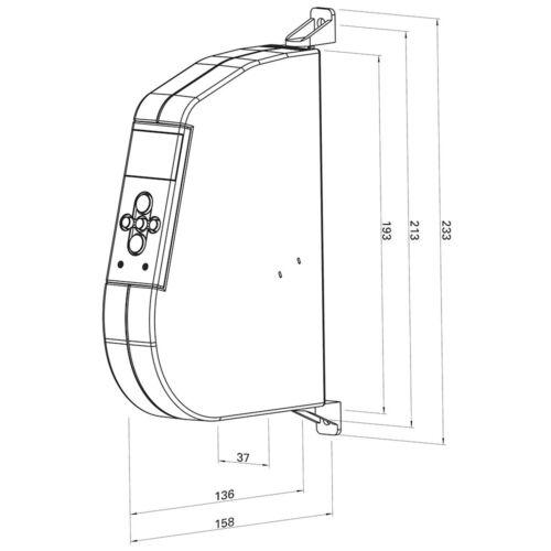 WIR elektronik eWickler Aufputz Comfort eW920-M 15mm Gurtband Rollladen Wickler