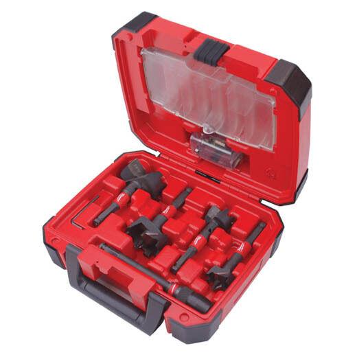 Milwaukee 49-22-5100 5PC SwitchBlade Selfeed Bit Plumber's Kit