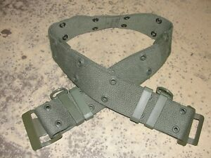 Ceinturon-ceinture-Famas-kaki-Armee-Francaise-neuf-vert-V-A-militaire