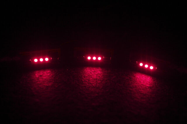 (6)RED LED FUSE LAMP-8v-RECEIVER SX-626 525 424 636 535 737 727 434 770 DIAL AMP