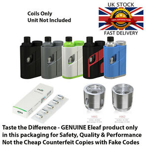 Details about Eleaf HW Replacement Coils for TW arc Pico Total - Genuine  Delivered Fast