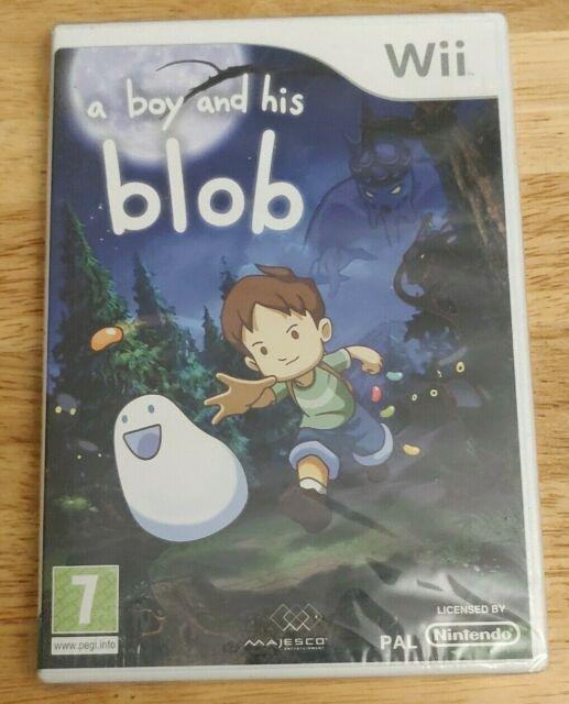 Un Boy et son BLOB-FACTORY SEALED (Endommagé) - bon état-Nintendo Wii UK