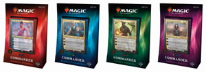 MTG-Commander-2018-Set-of-4-Decks-Brand-New-and-Sealed-Ships-FREE-PRIORITY