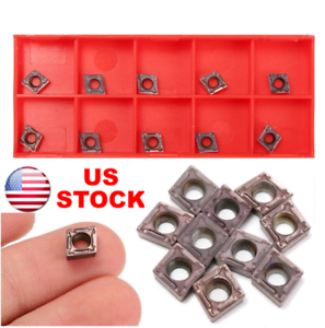 10pcs-CCMT060204-VP15TF-Carbide-Inserts-Blade-for-SCLCR-Turning-Tool-Holder-Lath