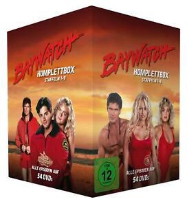 Baywatch-Komplettbox-Staffel-1-9-54-DVD-Edition-NEU-OVP