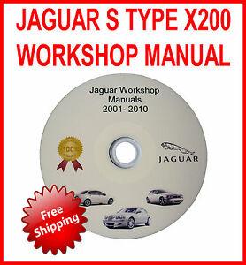 jaguar s type workshop service repair manual 2003 2008 x200 rh ebay co uk 2003 jaguar s type service manual 2003 jaguar s type service manual