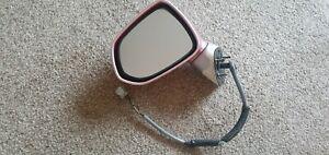 Honda Jazz Mk1 2002-13 Passenger Left Door Wing Mirror Met Pink (Red Iris R516P)