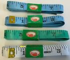 SUPER TAILORS TAPE-60 INCHES - 4 IN A SET (2) BLUE, (1) GREEN, (1) WHITE
