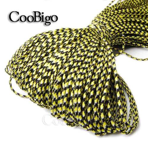 1 Strand Core Paracord Lanyard Camping Rope Hiking Clothesline 10~164ft 2mm Dia