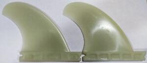 Futures-QD2-3-75-Rear-Quad-Surfboard-Fins-Bone-W-Reinforced-Fiberglass-Set-Of-2