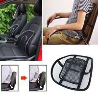 Comfort Auto Car Seat Chair Massage Back Mesh Lumbar Support Cushion Pad