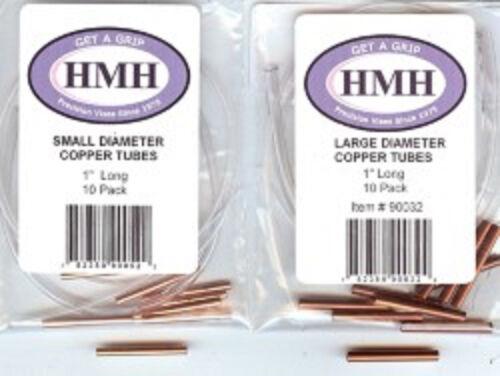 HMH Copper Tubes Pour Tube mouche fly tying Diamètre /& Longueur Options Disponibles