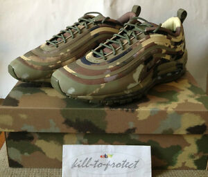 7008dd4535 NIKE AIR MAX 97 COUNTRY CAMO PACK Italy SP US UK7 8 9 10 11 12 13 QS ...