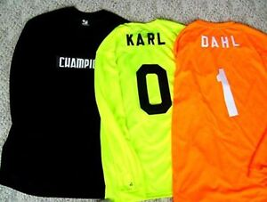 Details About Field Hockey Goalie Jerseys Your Number Added Free 56 New In 3 Color Choices