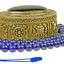 Lapis-Lazuli-Collier-Mala-Grand-Bleu-Afghanistan-Collier-de-Perles-37a miniature 2