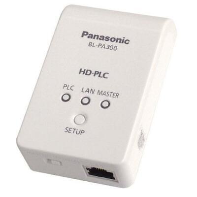 2 x PANASONIC HD-PLC HIGH DEFINITION POWER LINE BRIDGE WALL ETHERNET ADAPTORS