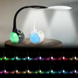 5W-LED-Tisch-Leuchte-Schreibtisch-Lampe-Buero-dimmbar-Touch-Leselampe-Nachttisch