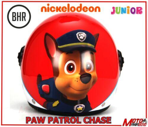 Casco JET kid junior bimbo bimba BHR 713 Nickelodeon Paw Patrol CHASE