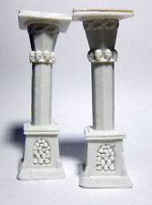 2 x TALL COLUMN - BONES REAPER miniature figurine rpg graveyard colonne 77400