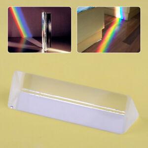 """3"""" Optical Glass Triangular Prism for Physics Light ..."""