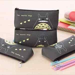 Totoro-Pencil-Case-Studio-Ghibli-Pen-Holder-Anime-Cartoon-Kawaii-Bag-Cartoon