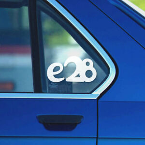 Bmw E28 Window Windshield Sticker Stance Decal Ebay