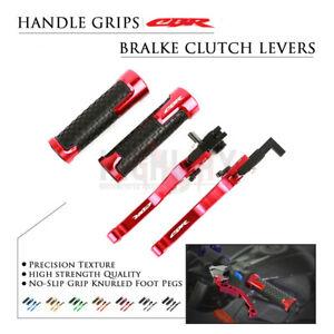 Short Brake Clutch Lever Handle Grips for Honda CBR650F CB650F CBR650R/A 14-19