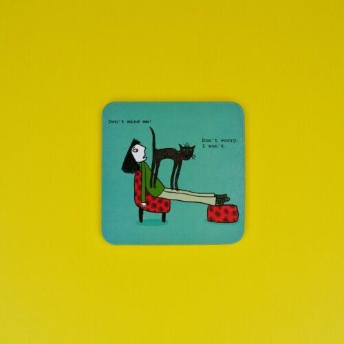 de trucs /& absurdité VRAIMENT BIEN drôle cadeau NOUVEAU Coaster dérange pas moi