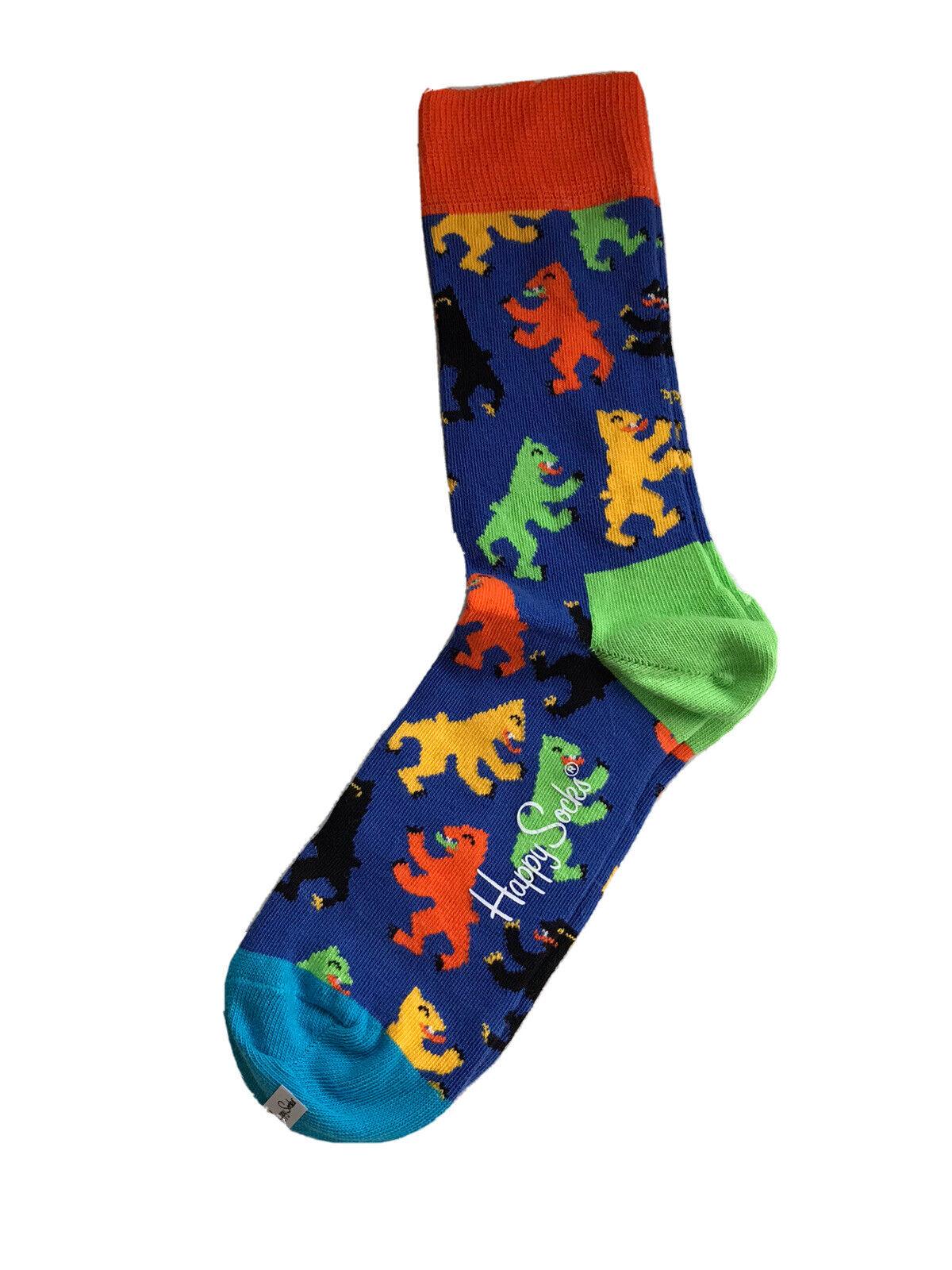 Happy Socks Unisex Berliner Bär Socken Gr.36-40 Mehrfarbig