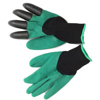 1 Pair Unisex Home Garden Working Gloves Mud Sand Digging Plant Hand Protector