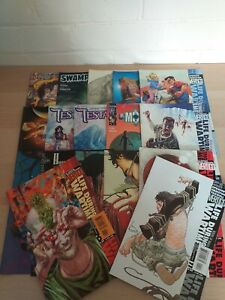 DC-vertigo-comics-bundle-x17-issues-all-different