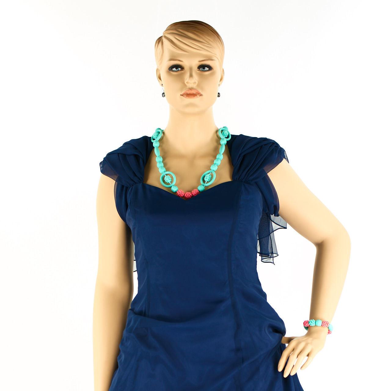 COLLANA + BRACCIALE nel set    anune-foryou  sipellas no 203 in silicone gioielli 562ade
