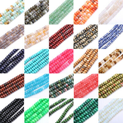 4mm*13mm Natural Stone Loose Beads DIY beads Jewelry Making Necklace 1 Strands