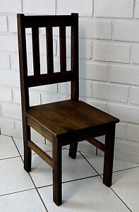 Esszimmer Stuhl Classic Ii Holz Pinie Massivkal Eiche Antik Kuche