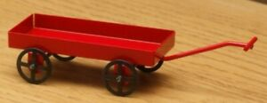 1:12 Dolls House Red toy cart