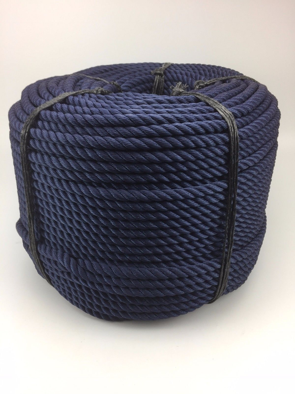 10mm Navy bluee 3 Strand Multifilament x 40 Metres (Floating Rope) Softline Rope