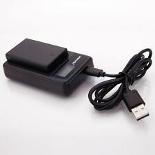 LCD Camera Battery charger for Nikon EN-EL14 D3200 D3300 D5300 D5500 P7700 P7800