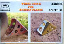 Hungarian Aero Decals 1/48 PHOTO ETCH WHEEL CHOCKS FOR RUSSIAN AIRCRAFT Set 2