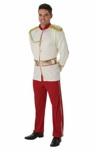 Men/'s Prince Charming Fancy Dress Costume