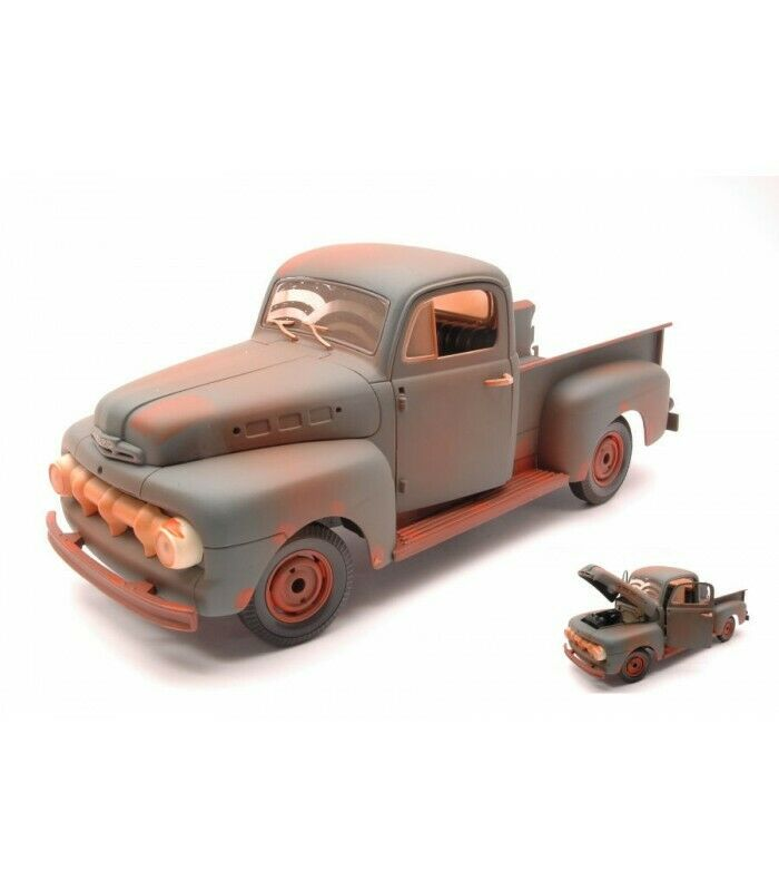 FORD F1 PICK UP TRUCK FORREST GUMP RUSTY Marronee 1 18