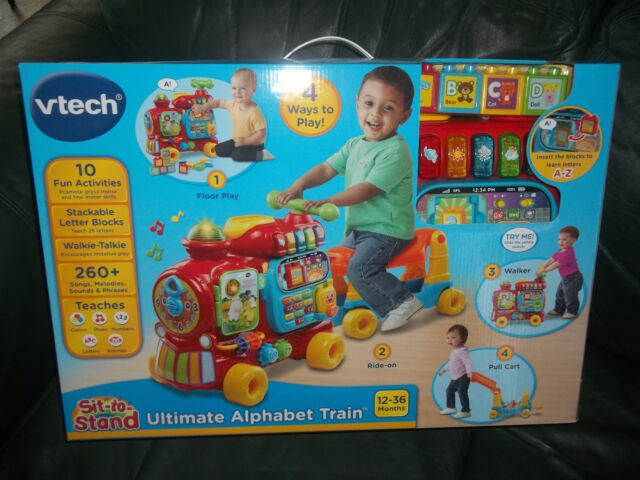 Vtech Sit To Stand Ultimate Alphabet Train 260 Songs Melodies 10