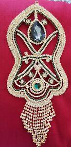Details about Naqsh E Nalain E Pak Shape 12'' Inches Wall & Car Hanging  Islamic Gift NP19