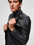 RRP-270-00-SELECTED-HOMME-LAMB-LEATHER-JACKET-BLACK-SIZE-M thumbnail 4