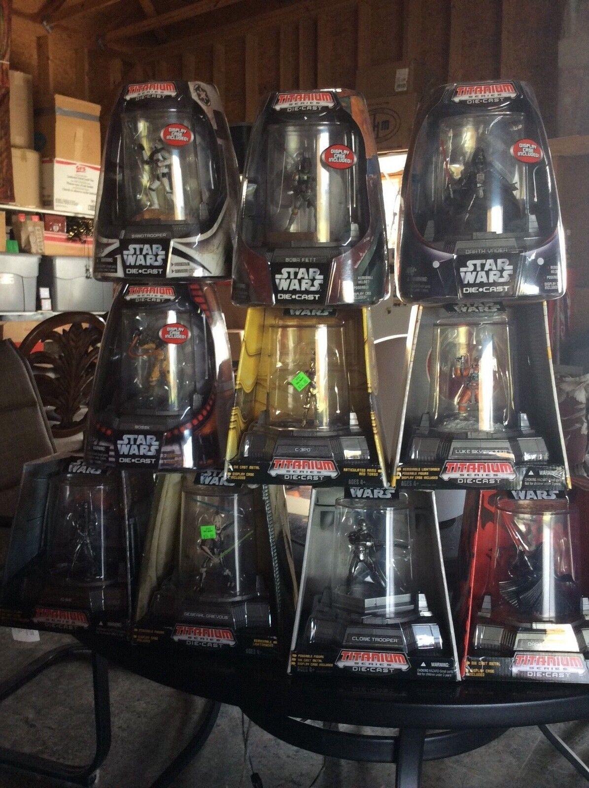 Star Wars Set Of 10 Titanum Figures