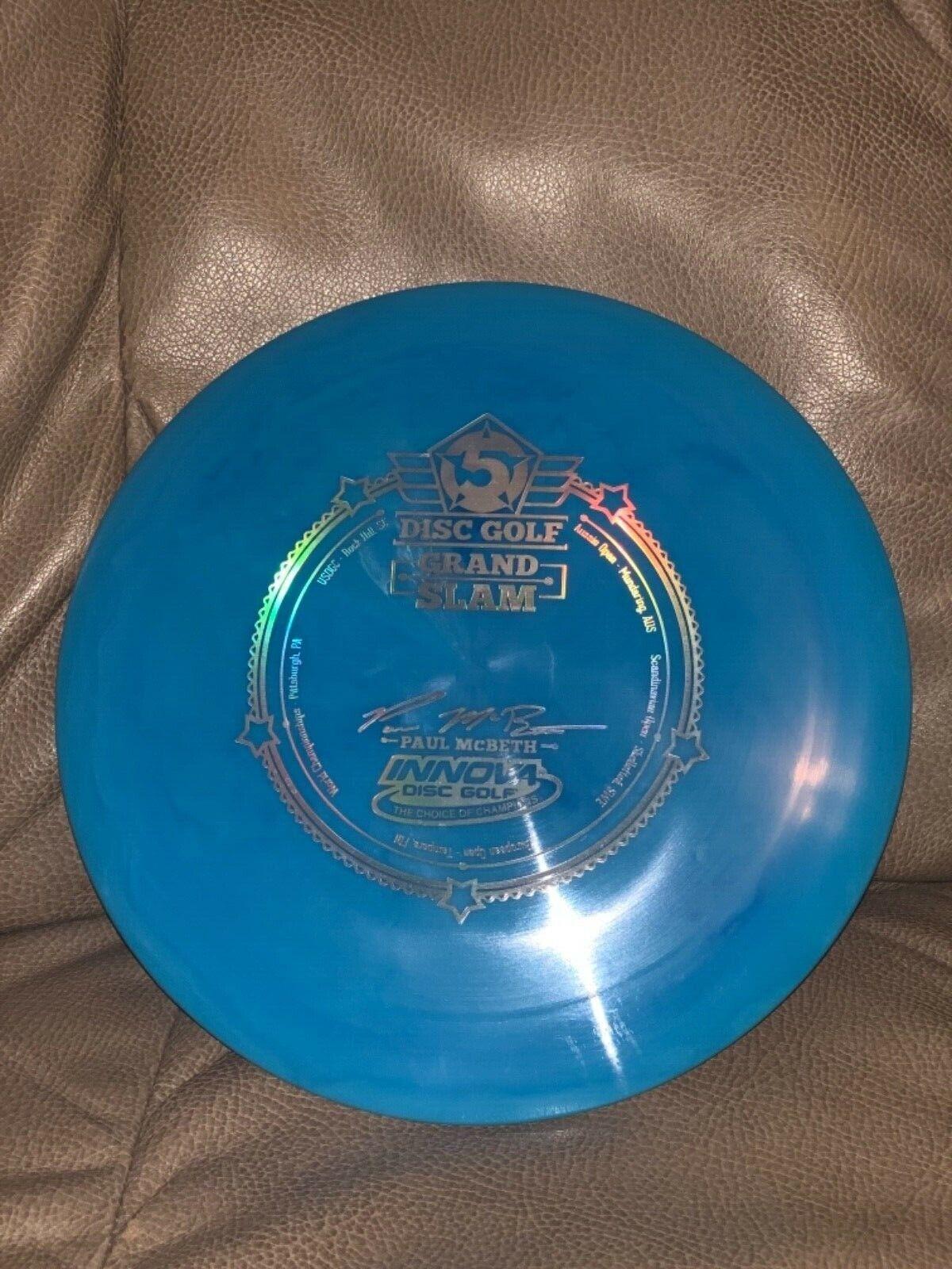 Innova McBeth Grand Slam Star Destroyer 175g Swirly blu w Holo Stamp NEW