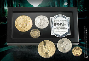 Harry Potter Gringott's Bank Coins by Noble Collection Official New