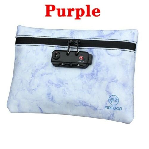 Smell Proof Bag with Lock Odor Proof Stash Case Container Storage No Smell