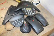 Polycom Soundstation 2 2490 Conference Phone 2201 15100 601 Loaded