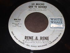 Rene & Rene: Lo Mucho Que Te Quiero / Mornin' 45