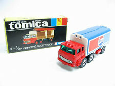 VINTAGE TOMICA 76 FUSO WING ROOF TRUCK MADE IN JAPAN RARE PEPSI-COLA